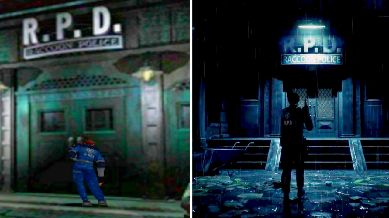 Resident Evil 2 Remake comparison: take a look at the 1998