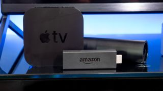 The best streaming devices in 2020: Apple TV 4K, NVIDIA Shield (2019), and Amazon Fire TV Stick 4K.
