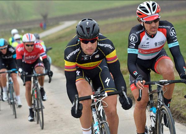 Tom Boonen and Fabian Cancellara, E3 Harelbeke 2013