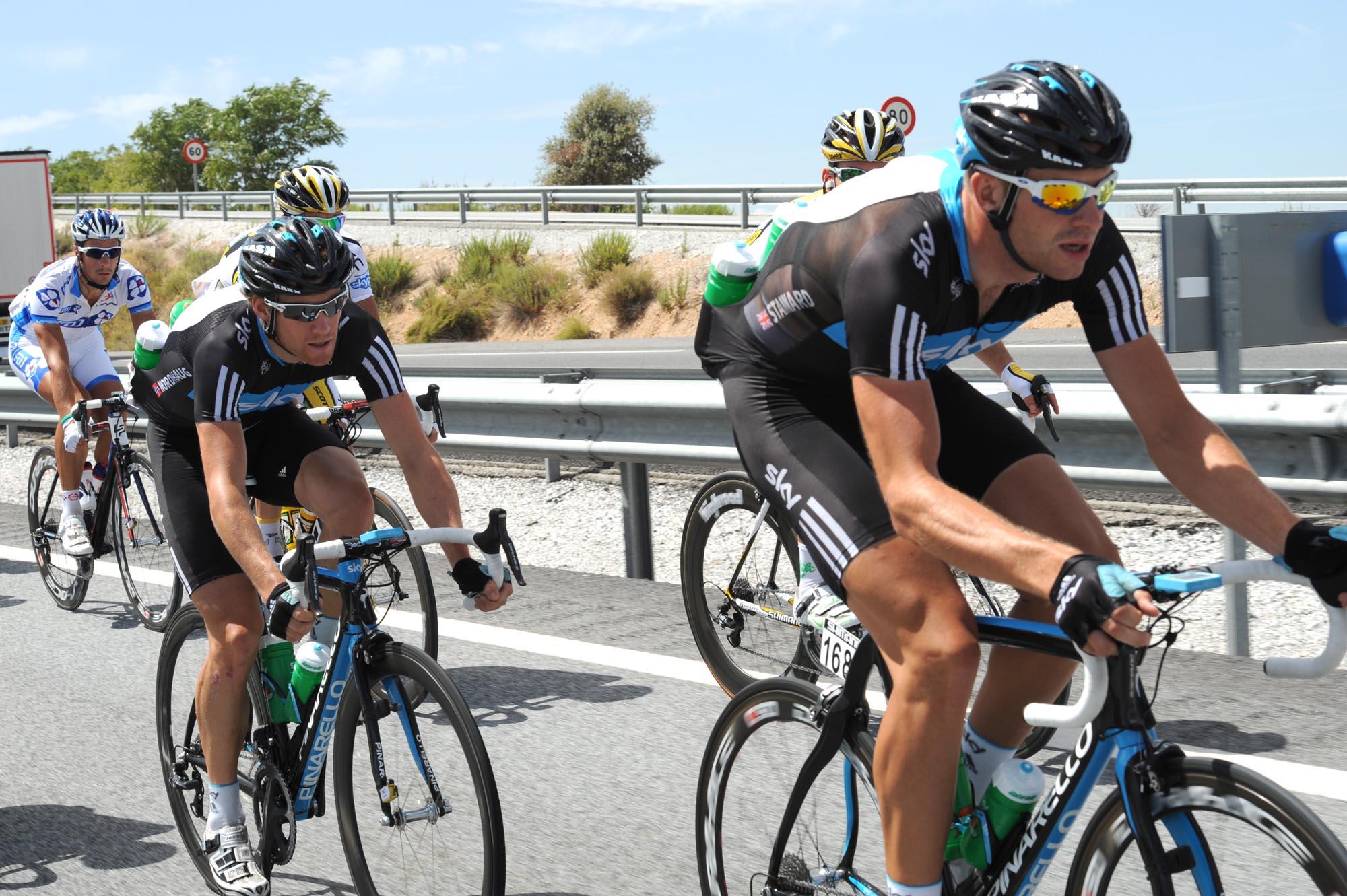 Ian Stannard, Vuelta a Espana 2010, stage five