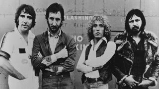 The Who in 1978: Keith Moon, Pete Townshend, Roger Daltrey and John Entwhistle