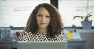 Angela Griffin plays Jenna Moss in Ordinary Lies