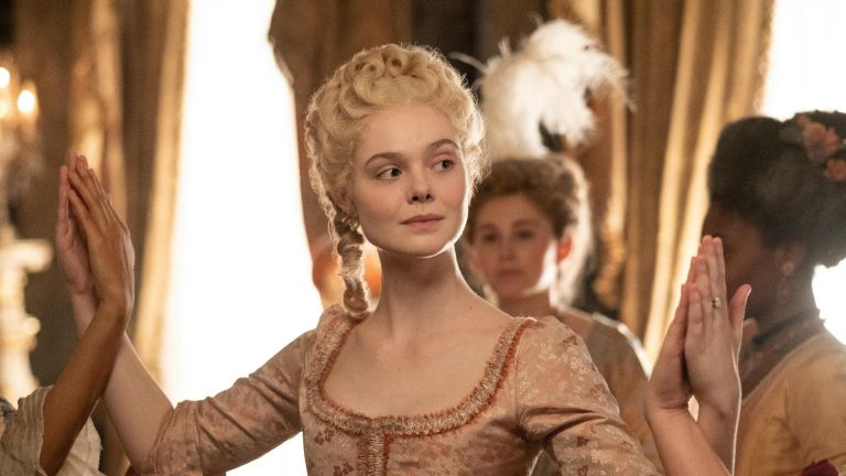 THE GREAT, Catherine the Great played by Elle Fanning, Moscow Mule, (Season 1, ep. 104, aired May 15, 2020)
