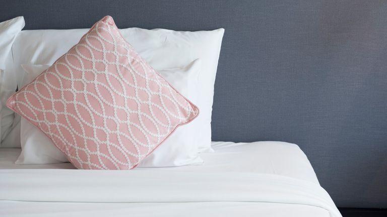 Aldi 'hotel quality' bedding, Bed room background
