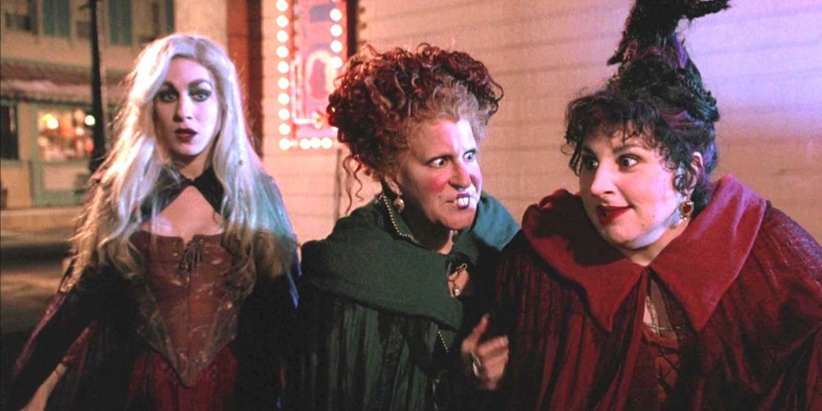 Sarah Jessica Parker, Bette Midler, and Kathy Najimy in Hocus Pocus