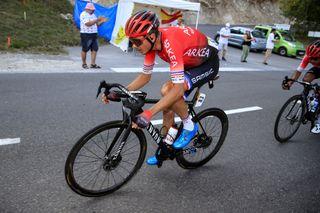 Warren Barguil (Arkéa-Samsic) on stage 15 of the 2020 Tour de France