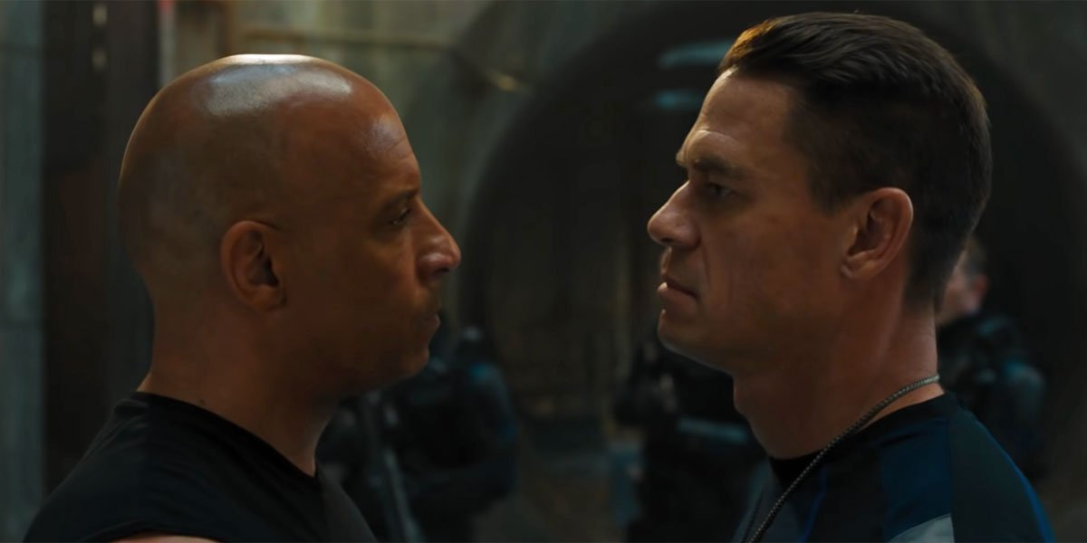 F9 first look at John Cena and Vin Diesel