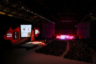 Christie Expandable Screen Wows at Fidelidade in Portugal