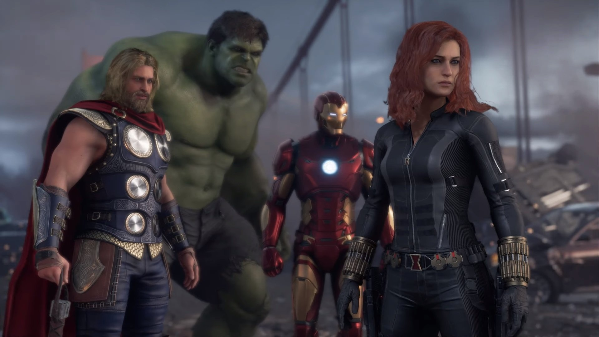 The Marvel's Avengers open beta starts August 21, preloading is live now