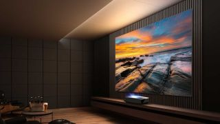 Hisense L5F laser projector brings the silver screen to your living room