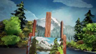 Dreams Bob Ross painting
