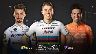 Julian Alaphilippe, Mads Pedersen and Greg Van Avermaet will all race the Swiss virtual races