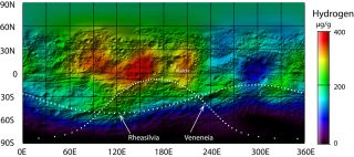Hydrogen on Asteroid Vesta