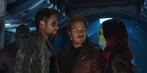 Thor with the Guardians