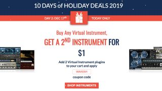Buy any virtual instrument and get a second for just $1 – today only at Waves