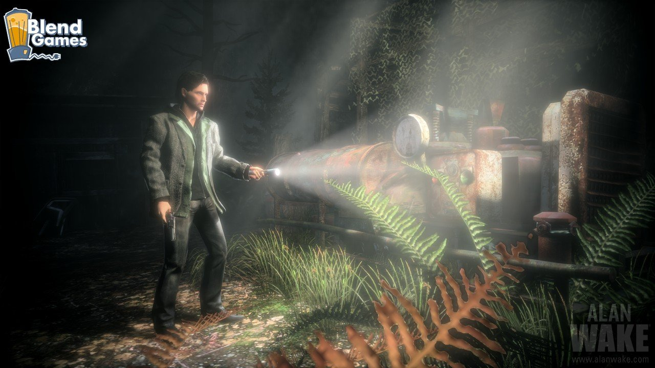 Alan Wake Screenshots Are All About The Flashlight #11191