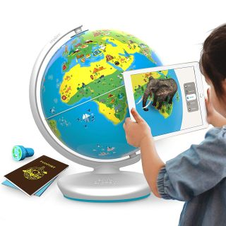 The Shifu Orboot Earth globe offers kids a view of the world through augmented reality.