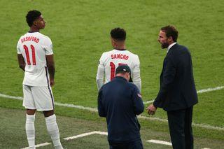 Marcus Rashford and Jadon Sancho, England Euro 2020 penalty shootout substitutes