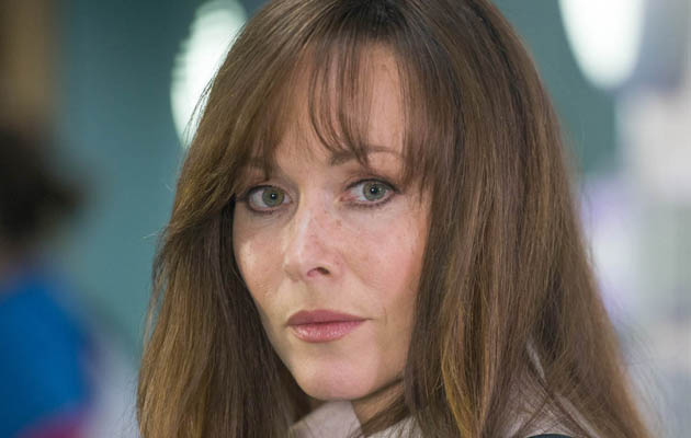 Amanda Mealing reveals the secret to Connie's short hair in Casualty