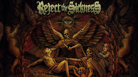 Cover art for Reject The Sickness - The Weight Of Silence album