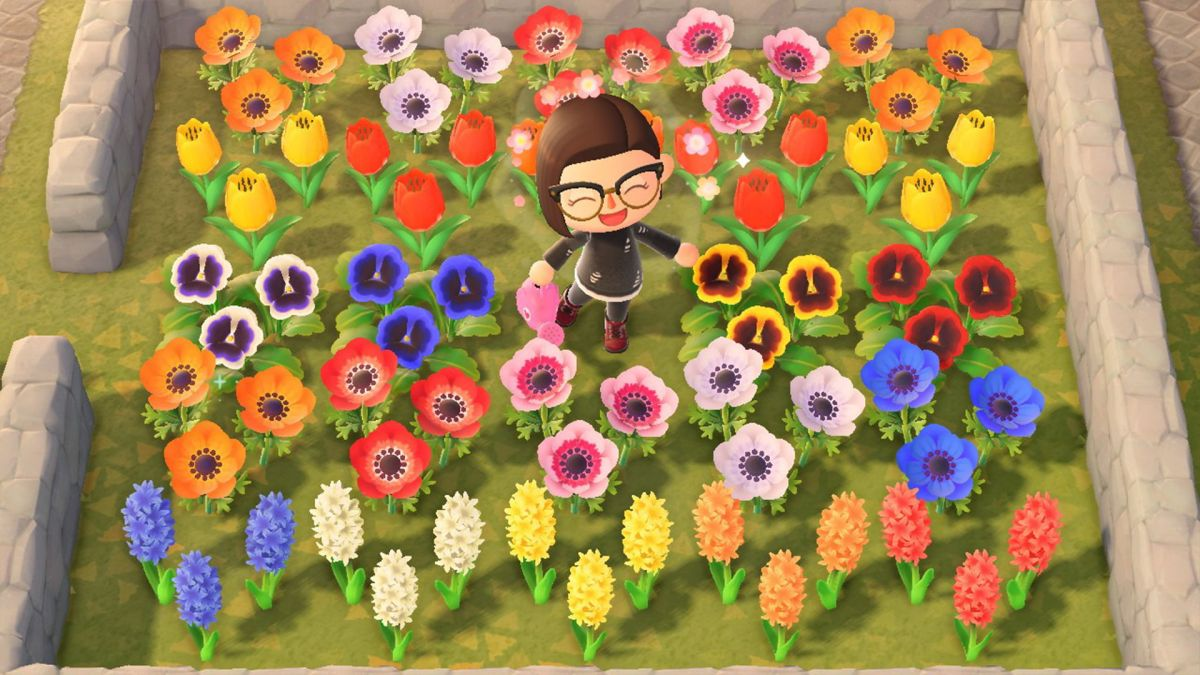 How Create Hybrid Flowers Animal Crossing New
