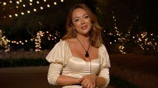 Sharon Gaffka leaves the villa Love Island UK 2021