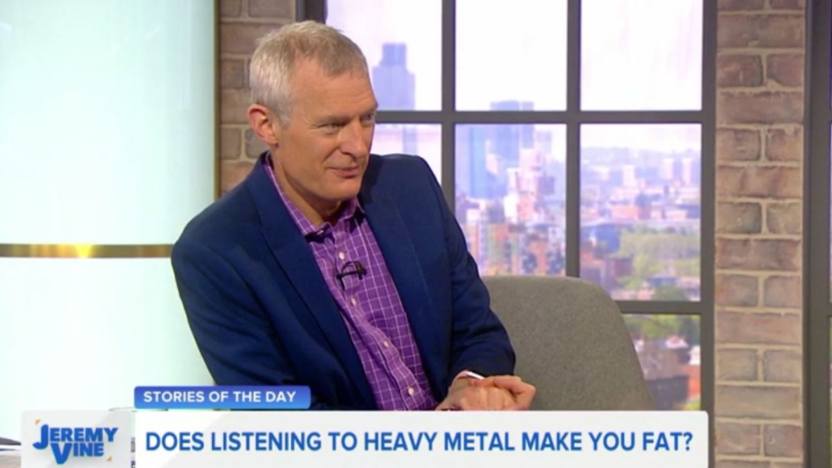 British newspaper says listening to heavy metal makes you fat