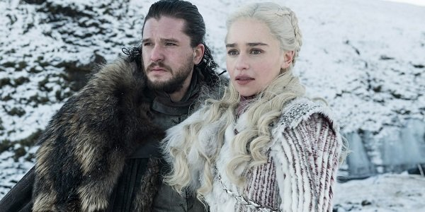 Jon and Dany Game of Thrones HBO