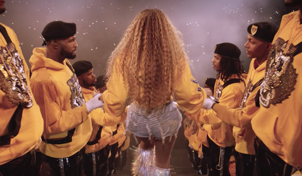 Beyonce as Coachella in 2018 during homecoming documentary