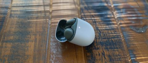 Google Pixel Buds A-Series on table