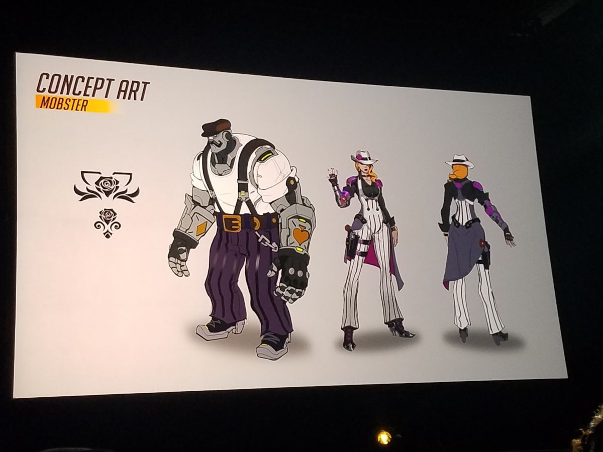 Early Mercy Concept Art