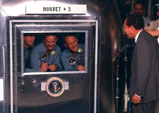 Apollo 11 Astronauts in Quarantine