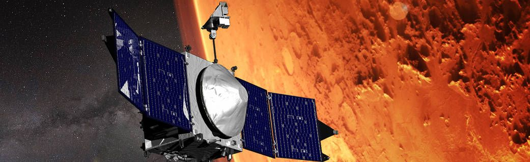 The MAVEN Spacecraft Will Fly Closer to Mars to Help NASA's Next Rover