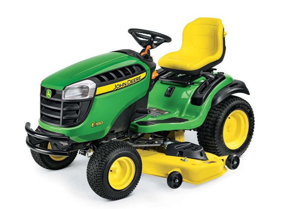 John Deere E180 Lawn Tractor Review - Pros, Cons and Verdict | Top