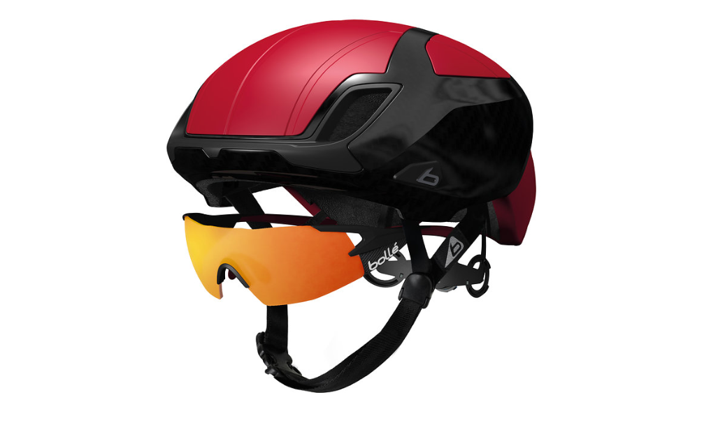 The new helmets can colour coordinated with Bollé eyewear