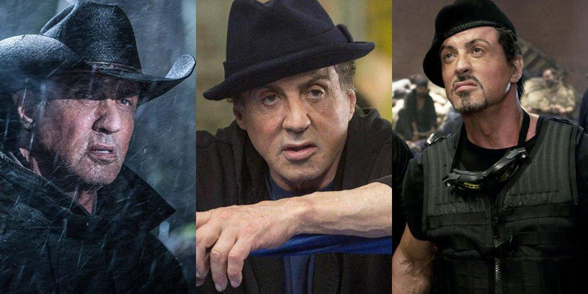 Stallone's many hats, Expendables, Creed, Rambo