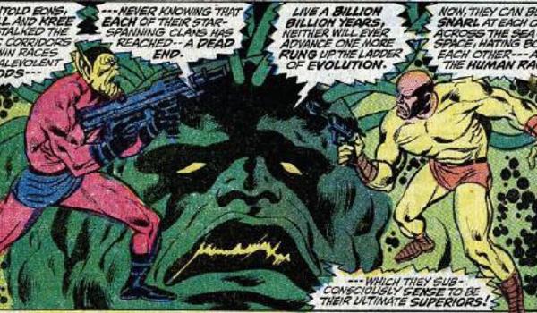 Kree-Skrull War Marvel Comics