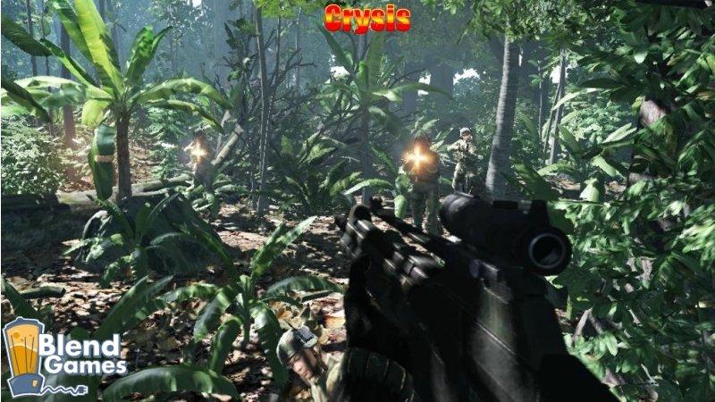 KillZone 2 Vs Crysis: Screenshot And Graphics Comparison #5190