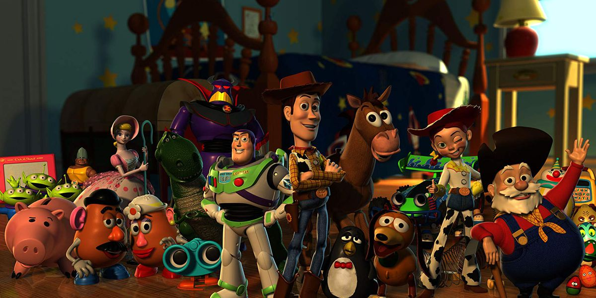 The Toy Story characters.