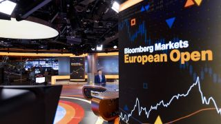 Luke Ellis, CEO of Man Group Plc, speaks during a Bloomberg Television interview in London, U.K., on Wednesday, July 28, 2021.