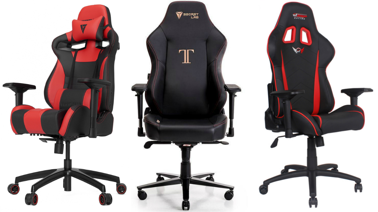 sc 1 st  GamesRadar & The best gaming chairs (September 2018) | GamesRadar+