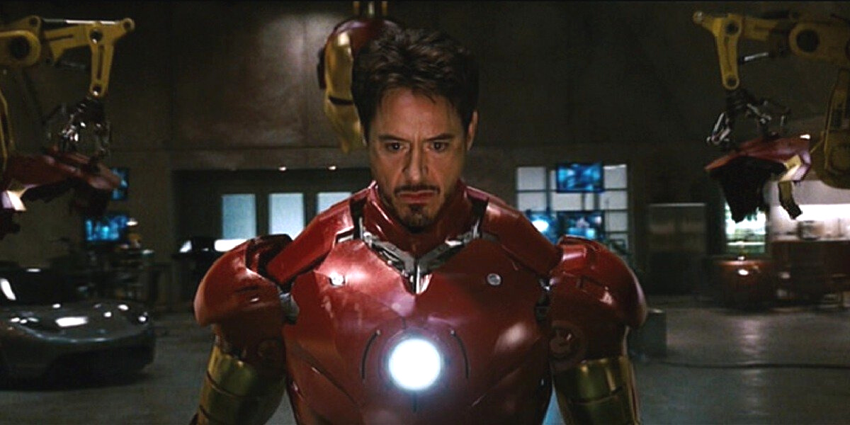 Robert Downey Jr. in 2008's Iron Man.
