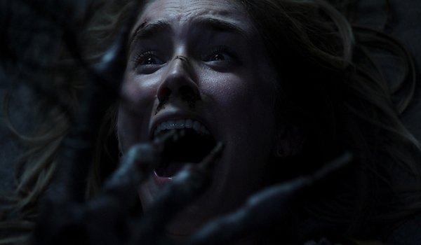 Insidious: The Last Key screaming woman versus the Key-Fingered Demon
