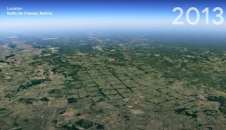 google earth timelapse feature