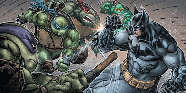 Batman and the Teenage Mutant Ninja Turtles