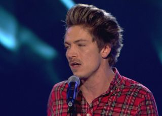 Tyler James among the lucky ones on The Voice