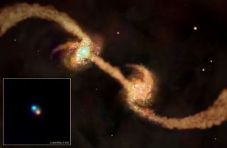 Growth Spurt: How Colliding Galaxies Built the Universe