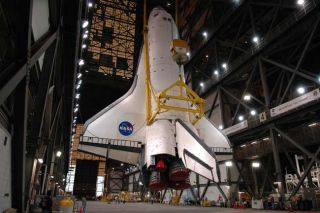 Shuttle Atlantis Suits Up for Flight