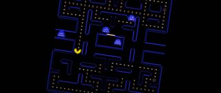 Pacman generated via GameGAN