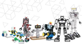 A wide array of Pitsco robots